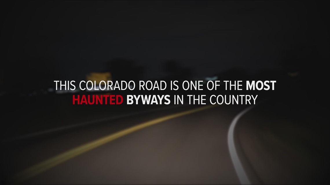 One of the most haunted roads in the country is just a few miles from downtown Denver