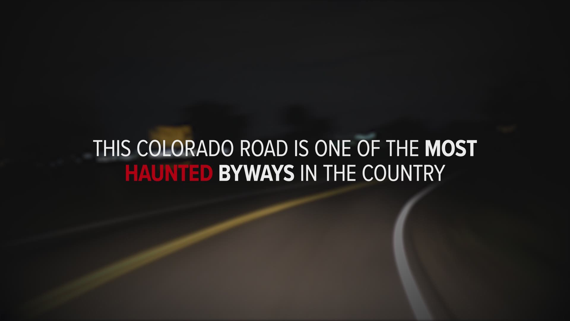 is colorado s riverdale road haunted it depends who you ask 9news com one of the most haunted roads in the country is just a few miles from downtown denver