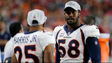 Broncos notes: Von sticks up for teammate Harris