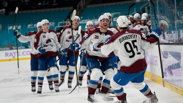 Avalanche rally for 5-4 overtime win over Sharks