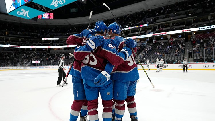 Jost scores twice, Avs clinch Presidents' Trophy and No. 1 seed with win over Kings