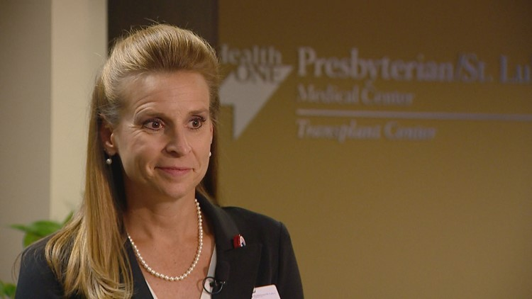 Alyssa Johnston, the vice president of the solid organ transplant program at Presbyterian St. Luke's, said the hospital is working to help the influx of patients from Porter Adventist after it unexpectedly halted its own transplant program.