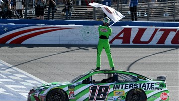 Kyle Busch ties Richard Petty's record with 200th career NASCAR win