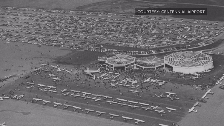 This is what the Centennial Airport property looked liked when it opened in 1968.