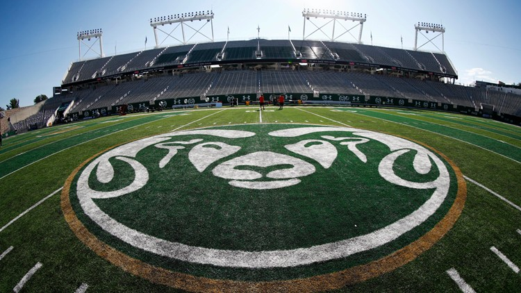 Colorado State rams football canvas stadium cropped