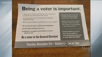 Pro-Prop CC mailers targeting voters, shaming them into returning a ballot