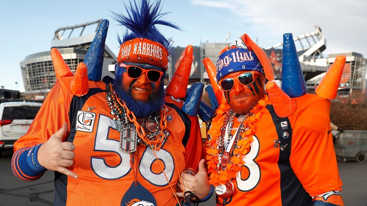 Broncos Stadium at Mile High fans AP Dec 2018 die hards
