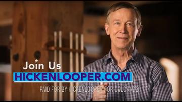 Hickenlooper announces run for U.S. Senate