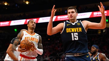 Nuggets beat Hawks behind Jokic's career-high 47 points