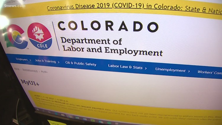 Colorado estimates 9,300 new jobless claims filed