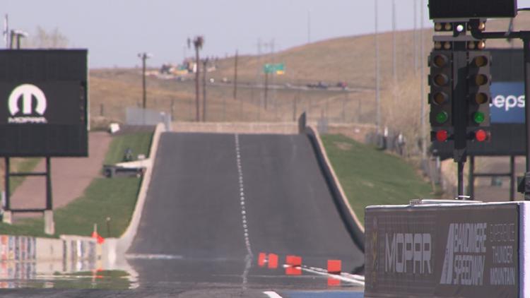 Bandimere Speedway in Morrison