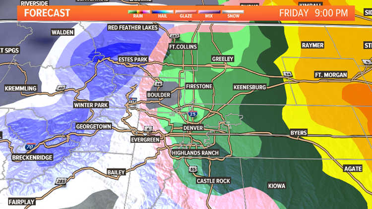 LIVE RADAR | Rain and snow for the area today and tonight