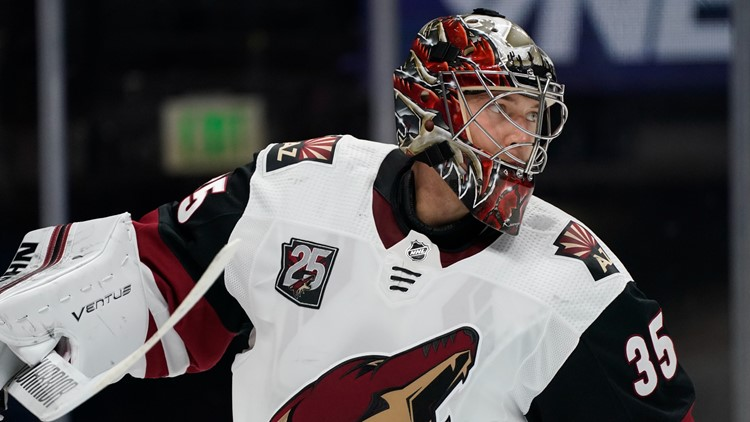 Avs acquire veteran goalie Darcy Kuemper in trade with Coyotes