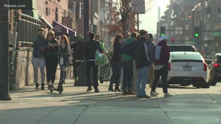 Denver bars still crowded for St. Patrick's Day celebrations despite coronavirus concerns