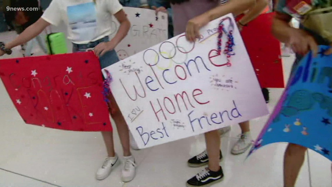 Two Colorado Olympic climbers return home from Tokyo