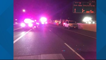 Highway worker seriously hurt in hit-and-run in construction zone on I-25