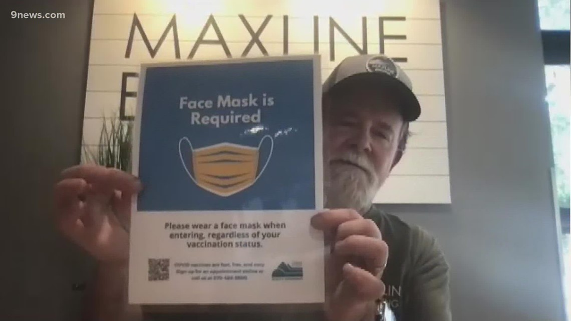 Larimer County businesses prepare for mask mandate
