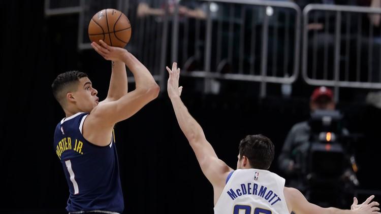 Nuggets Pacers Basketball Porter Jr. Denver NUGGETS AP