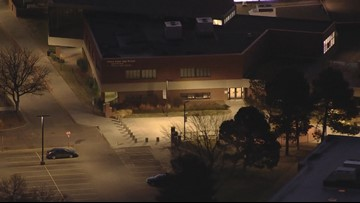 Gun fired into security vehicle at Cherry Creek High School
