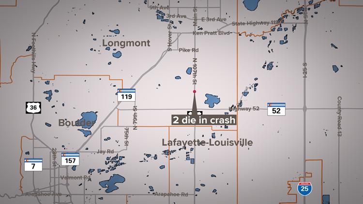 2 die in head-on crash in Boulder County
