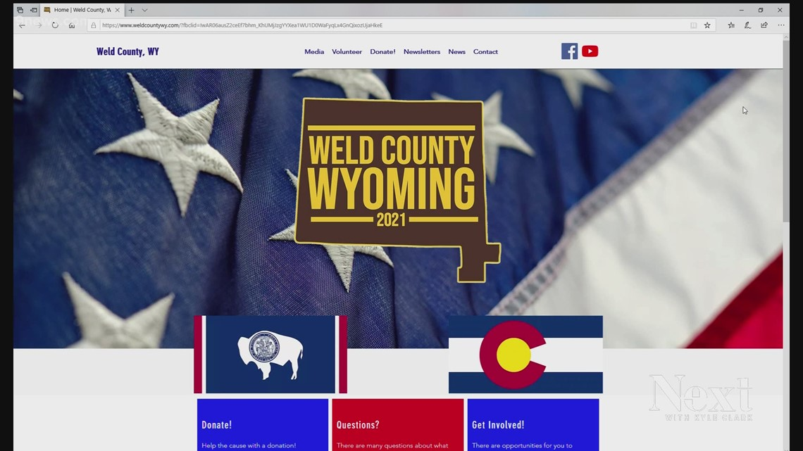 Colorado voters would have to approve Weld County becoming part of Wyoming