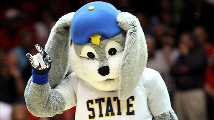 Jack Rabbit -- The South Dakota State University mascot (Wikipedia)