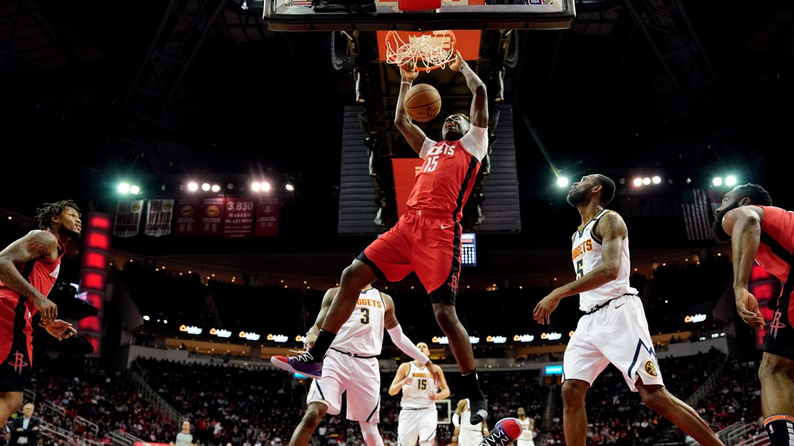 Westbrook, Harden lead Rockets past Nuggets, 121-105