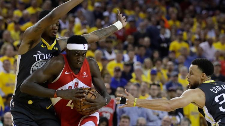 NBA Finals Raptors Warriors Basketball Pascal Siakam