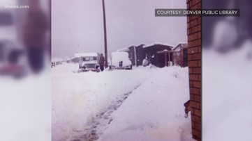Denver was once covered in snow over Labor Day weekend