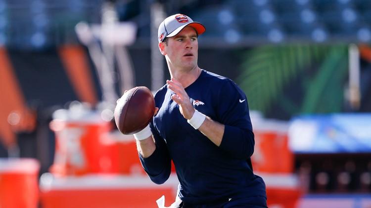 Broncos Bengals Football Kevin Hogan