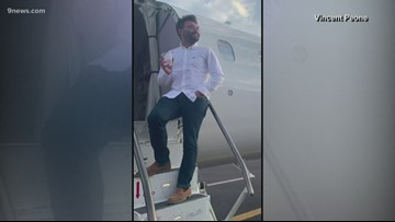 This guy was the only person on his flight, and the video is hilarious