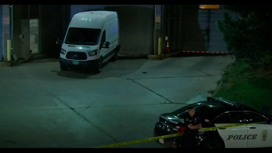 Officer shoots, injures man outside Lakewood police station