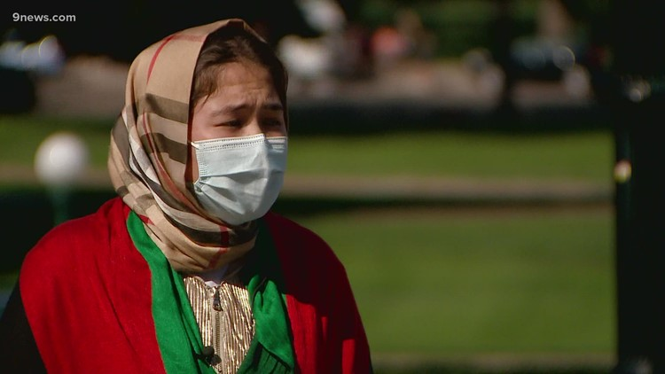 Afghanistan rally for peace took place at Colorado state Capitol