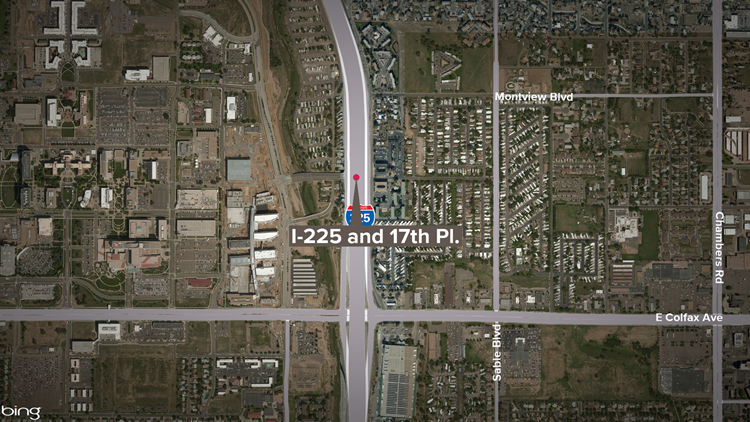 Driver injured after wrong-way head-on crash on I-225, police said