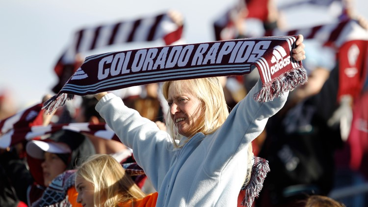 Colorado Rapids fans AP
