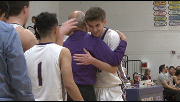 Milestones reached in Holy Family boys hoops win over Erie