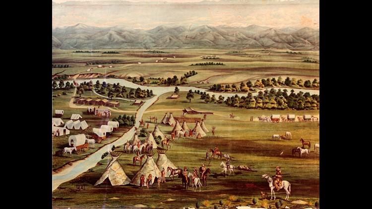 Denver in 1858