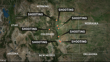 There have been 7 officer-involved shootings in Colorado in 6 days