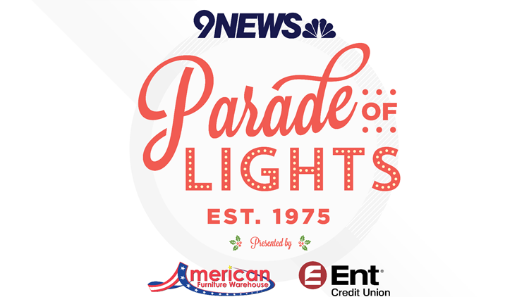 9NEWS Parade of Lights 2019 Logo