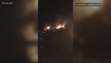 Fireworks display sparks fire at Palisade Peach Festival
