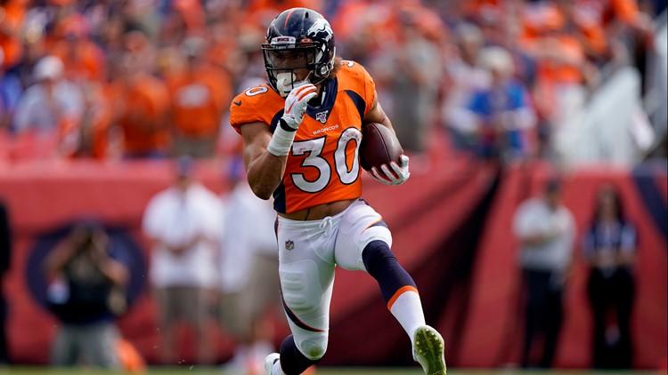 Broncos RB Phillip Lindsay officially a father | 9news.com