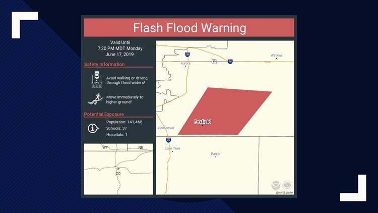 259 Flash Flood Warnings in Colorado so far this year, setting record