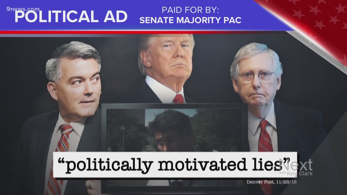 There are lots of political ads on Next, so Marshall is trying to Truth Test as many as possible