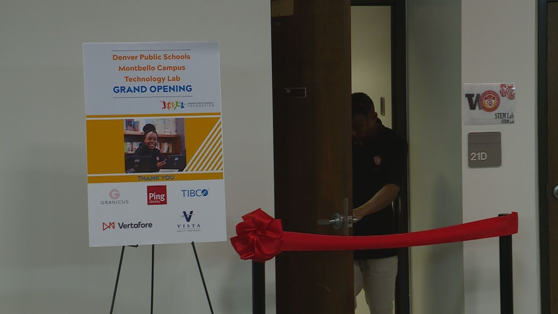New STEM lab opens for students in Montbello