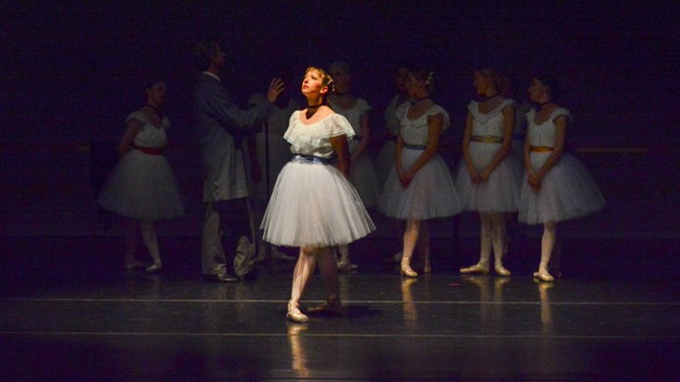 Ballerina by Degas   Ballet Ariel