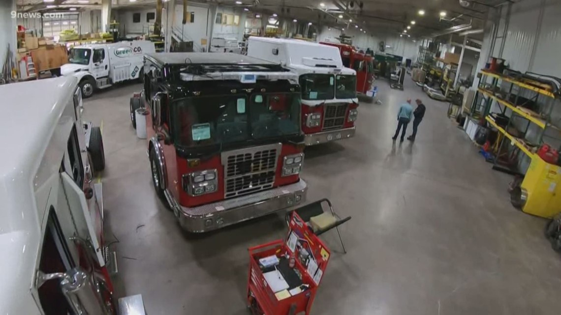 Firetruck sales heating up for one Colorado company