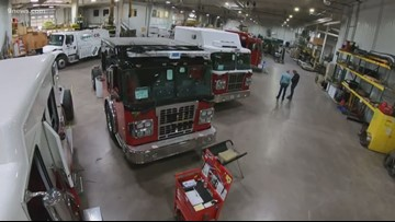 Inside the firetruck factory in Fort Collins