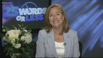 Meredith Vieira talks to 9NEWS about new game show '25 Words or Less'