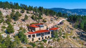 Mountaintop retreat near Boulder with 42 acres and watchtower hits the market at $4.75M
