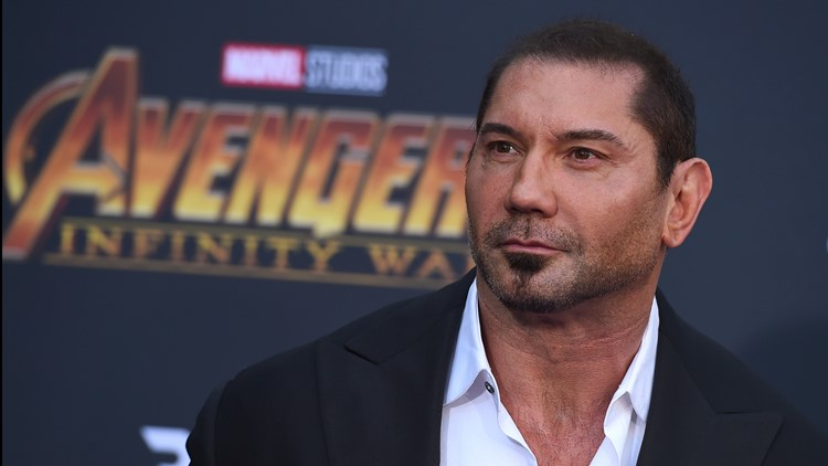 "World Premiere of ""Avengers: Infinity War"" AP  Dave Bautista"
